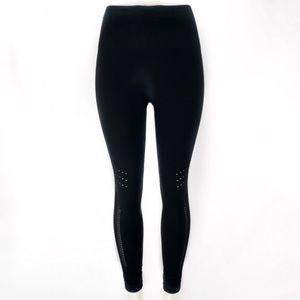 ZELLA Black High Waist Full Length Leggings! L.